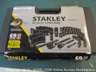 Stanley Black Chrome Tools