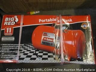Big Red  Portable Air Tank