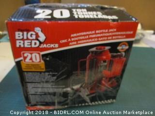 Big Red Air Hydraulic Bottle Jack