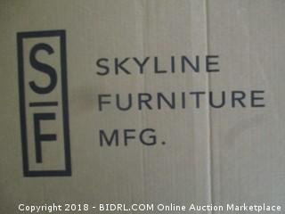 Skyline Furniture Inset Nail Button Twin