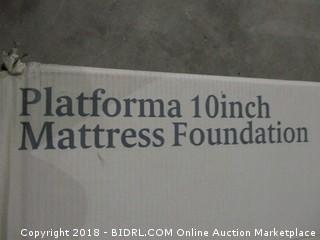 Zinus Platform 10 inch mattress foundation