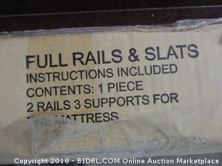 """82"""" Full Rails & Slats"""