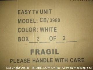 Casa Blanca Easy TV Unit  Box 2 of 2 Only  Incomplete set