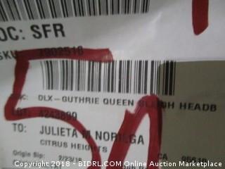 Queen Sleigh Headboard/Footboard