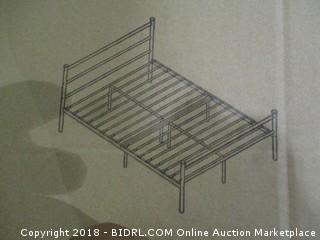Primo double Frosted Bed Frame