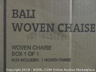 Bali Woven Chaise