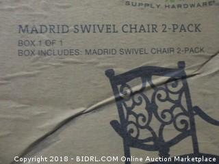 Madrid Swivel Chair 2 Pack
