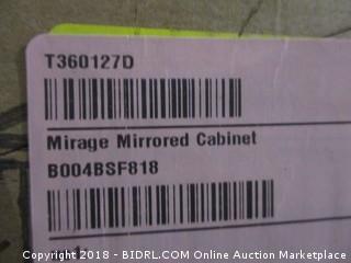 Mirage Mirrored Cabinet  Water damaged