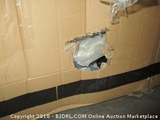 Cortez PM Glider Console Loveseat Water damaged