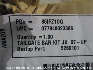 Tailgate Bar Kit