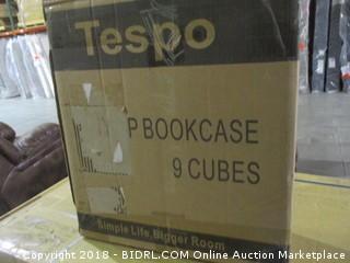 Tespo  DIY PP Bookcase 9 Cubes