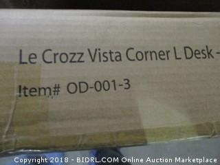 Le Crozz Vista Corner L Desk