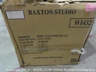 Baxton Studio White Modern Chair