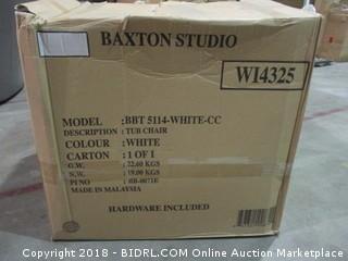Baxton Studio White Modern Chair