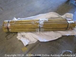 6' Bamboo Decorative Poles
