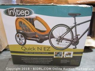 InStep Quick N EZ twi Seat Bicycle Trailer