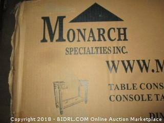 Monarch Table Console  Water damaged