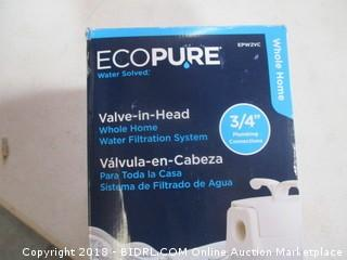 Ecopure Water silved Valve in Head