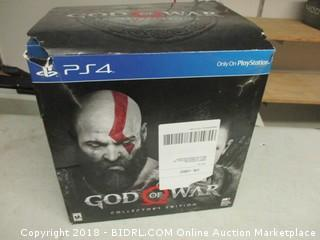 PS4 God of War - Game Missing