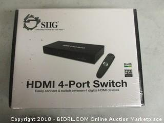 HDMI 4 Port Switch