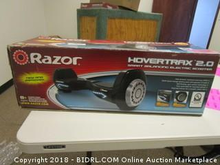 Razor Hovertrax 2.0 Smart Balance Electric Scooter Powers On