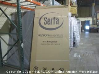 Serta Motion Essentials Cal King Split Mattress