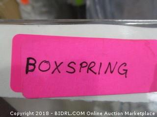 Queen Box Spring MSRP &400.00