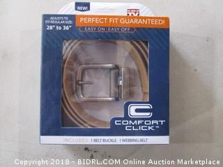Comfort Click Webbing Belt