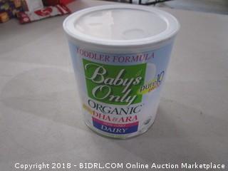 Toddler Formula  Organic