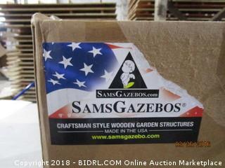 Sams Gazebos Craftsman Style Wooden Garden Structures