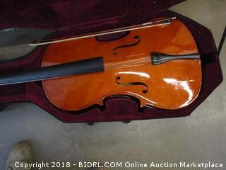 Merano 4/4 Size Cello and Case