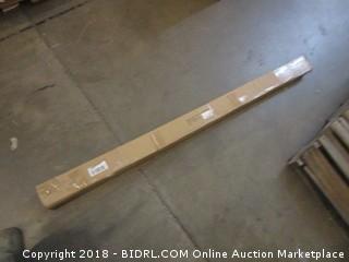 Source Global Aspire 144-240Crown Curtain Rod, Nickel (Retail $95.00)