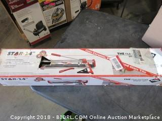 "Star 24"" Tile Cutter"
