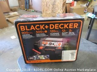 Black + Decker Jumo-Starter, Power Inverter, Air Compressor, USB