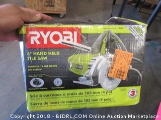 """Ryobi 4""""Hand Held Tile Saw"""