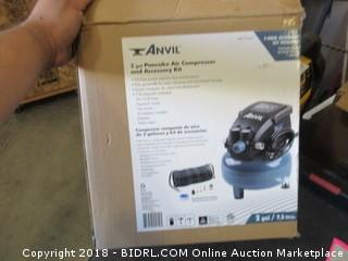 Anvil 2 Gal. Pancake Air Compressor and Accessory Kit