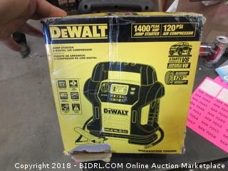 DeWalt Jump Starter & Digital Air Compressor