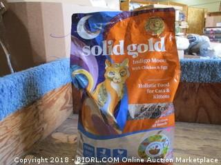Solid Gold Indigo Moon w/ Chicken & Egg for Cats and Kittens 12lb