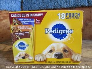 Pedigree Variety Pack Dog Food