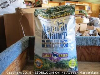 Natural Balance Lamb Meal and Brown Rice Adult Dog 28lb Bag