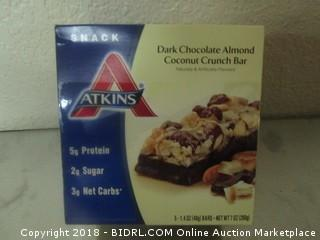 Dark Chocolate Almond Crunch Bar