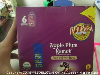 Apple Plum Kamut Puree