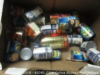 Various Canned Food