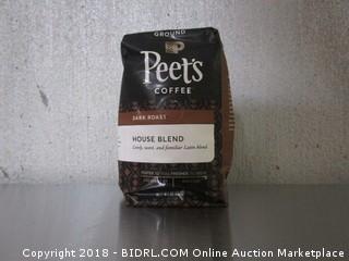 Peets Coffee Dark Roast House Blend