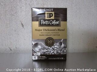 Peets Coffee K-Cups (10 count)
