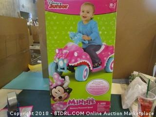 Disney Junior Minnie Battery Operated Quad Factory Sealed