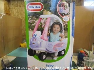 Little Tikes Fairy Cozy Coupe Factory Sealed