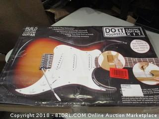 Build Your Own Custom Guitar - Electric Guitar Kit