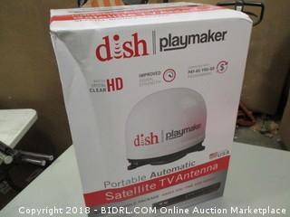 Dish Portable Automatic Satellite TV Antenna
