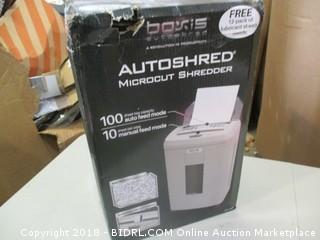 Autoshred Microcut Shredder